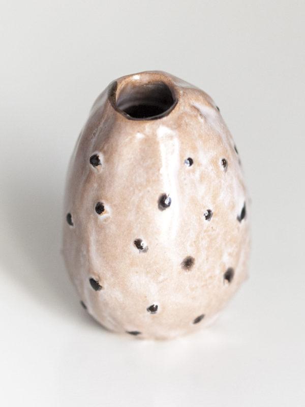 Immagine di fico d'India in ceramica su sfondo bianco