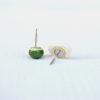 Retro orecchini Leguminosa, variante fagiolo + pisello