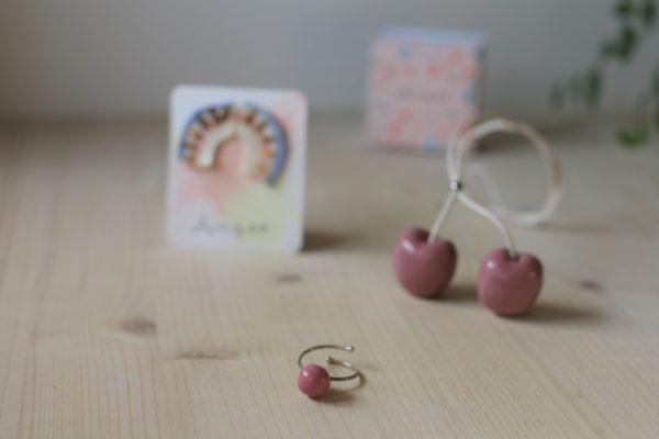 Set di gioielli in ceramica e porcellana Anseo